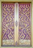 Deseniowy kościelny drzwi Obrazy Stock