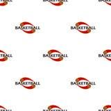 Deseniowy koszykówka tekst Zdjęcia Royalty Free