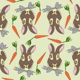 Deseniowy królik Zdjęcia Royalty Free