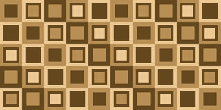 deseniowy kwadrat Obrazy Royalty Free