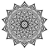 Deseniowy mandala ilustracja wektor