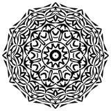 Deseniowy mandala Zdjęcie Stock