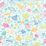 deseniowy morze ilustracji