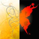 Deseniowy motyl Wskazuje motyl grafikę I projekt Zdjęcia Royalty Free