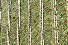 Deseniowy Mozaiki Płytki Styl Azja Obrazy Stock
