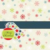 deseniowy płatek śniegu Obraz Stock