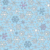 deseniowy płatek śniegu Zdjęcia Stock