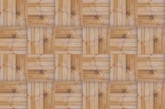 Deseniowy parkietowy kwadratowy blok wsiada horyzontalne pionowo linie geometryczne Zdjęcia Royalty Free