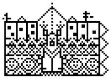 deseniowy piksel Zdjęcie Royalty Free