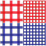 deseniowy pykniczny bezszwowy tablecloth Zdjęcie Royalty Free