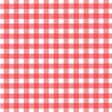 deseniowy pykniczny tablecloth Zdjęcie Stock