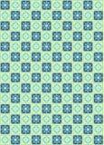 deseniowy retro bezszwowy kwadrat Zdjęcie Stock