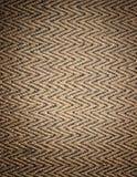 deseniowy słomiany weave Obraz Royalty Free