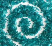 deseniowy solankowy morze Fotografia Stock