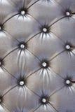 deseniowy srebny tapicerowanie Obraz Royalty Free