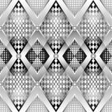 deseniowy srebro Zdjęcia Stock