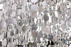 deseniowy srebro Zdjęcia Royalty Free