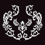 Deseniowy strzałkowaty abstrakt splatać tatuażu płomienia linie Obraz Royalty Free