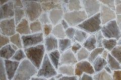 Deseniowy szary kolor nowożytnego stylowego projekta kamiennej ściany dekoracyjna nierówna krakingowa istna powierzchnia z cement zdjęcie royalty free