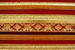 deseniowy tajlandzki Obrazy Royalty Free