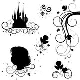 deseniowy tatuaż ilustracja wektor