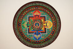 deseniowy Tibet Obrazy Stock