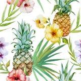deseniowy tropikalny Obraz Stock