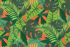 deseniowy tropikalny ilustracja wektor