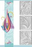 deseniowy vertical Zdjęcie Royalty Free