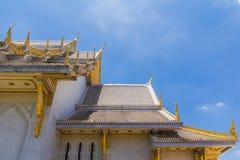 Deseniuje kościół w Tajlandia świątyni Obraz Royalty Free