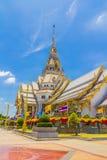 Deseniuje kościół w Tajlandia świątyni Obrazy Royalty Free
