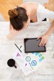 Desenvolvendo um plano empresarial Imagens de Stock