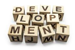 Desenvolvimento Foto de Stock