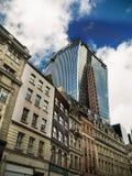 Desenvolvimento da cidade de Londres Foto de Stock