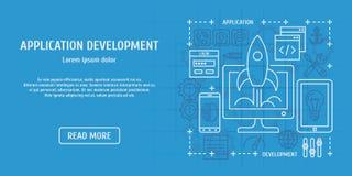 Desenvolvimento de aplicações Imagem de Stock Royalty Free