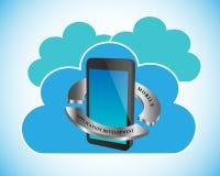 Desenvolvimento de aplicações do móbil do conceito Imagens de Stock Royalty Free