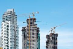 Desenvolvimento de bens imobiliários Fotos de Stock