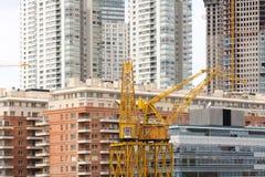 Desenvolvimento de bens imobiliários em Puerto Madero Fotos de Stock