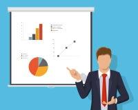 Desenvolvimento de ensino do treinamento da oficina Conceito da consulta incorporada, gestão empresarial, planeamento financeiro Fotografia de Stock