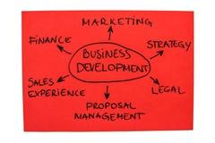 Desenvolvimento de negócios Imagem de Stock