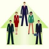 Desenvolvimento de negócios Crescimento Ilustração do negócio do conceito Fotografia de Stock Royalty Free