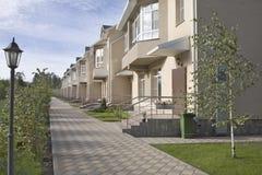Desenvolvimento de novos domicilios foto de stock
