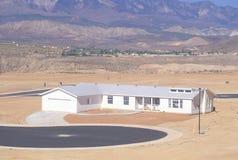 Desenvolvimento de terra do deserto Imagem de Stock Royalty Free