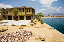 Desenvolvimento do condomínio de Califórnia, Indio Foto de Stock