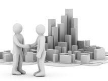 Desenvolvimento do negócio ilustração do vetor
