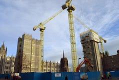 Desenvolvimento do quadrado de Marischal, Aberdeen, Escócia Foto de Stock