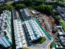 desenvolvimento do sócio da cidade de Colômbia imagens de stock royalty free