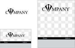 Desenvolvimento, educação, uma comunicação, mercado, alto - tecnologia, finança, indústria, logotipo do negócio Fotografia de Stock Royalty Free