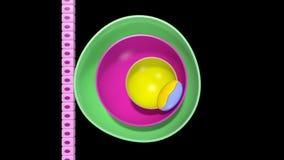 Desenvolvimento embrionário ilustração do vetor