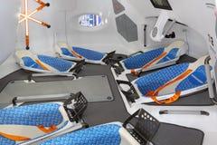 Desenvolvimento futuro do espaço Foto de Stock Royalty Free